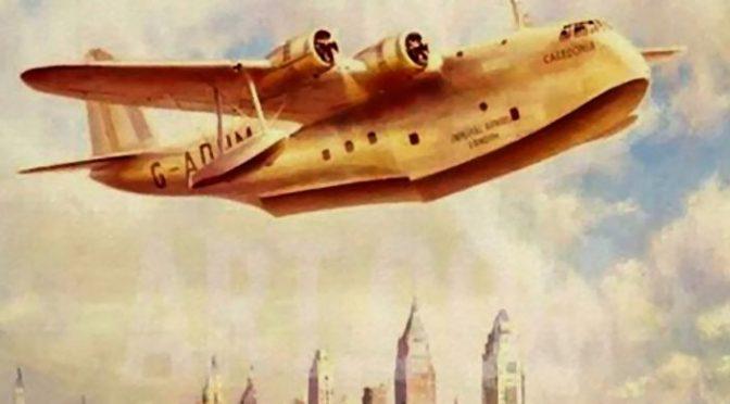 Affiche vintage Imperial Airways